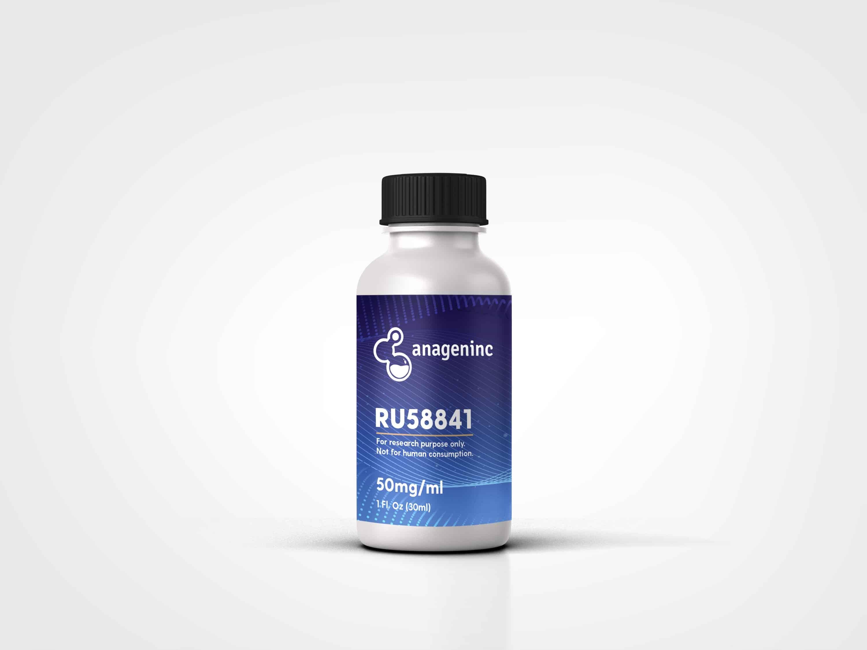 RU58841 5% Propylene glycol ethanol solution